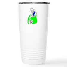 Golf Cat Travel Mug