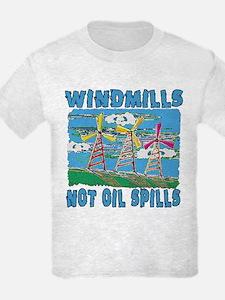 Windmills Not Oil Spills T-Shirt
