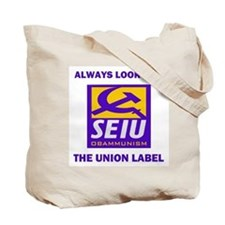 FIGHT CROOKED UNIONS Tote Bag