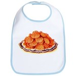 Wafer Potatoes Bib