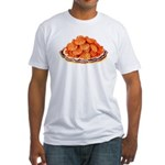 Wafer Potatoes Fitted T-Shirt