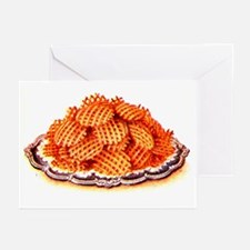 Wafer Potatoes Greeting Cards (Pk of 10)