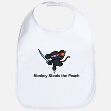 Flying Monkey Steals the Peac Bib