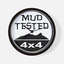Mud Tested Wall Clock