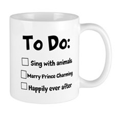 Cute Singing princess Mug