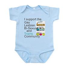 LGBT Ally Infant Bodysuit