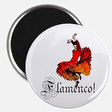 "Flamenco Dancer 2.25"" Magnet (10 pack)"