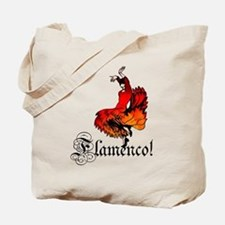 Flamenco Dancer Tote Bag