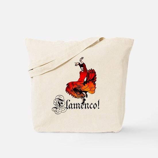Flamenco Dancer Tote Bag