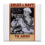 To Arms Tile Coaster