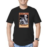 To Arms Men's Fitted T-Shirt (dark)