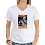 To Arms Women's V-Neck T-Shirt