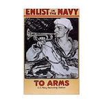 To Arms Mini Poster Print