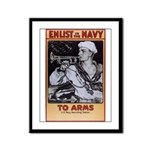 To Arms Framed Panel Print