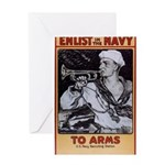 To Arms Greeting Card