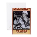 To Arms Greeting Cards (Pk of 10)