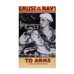 To Arms Sticker (Rectangle)