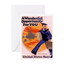 A Wonderful Opportunity for You Greeting Card