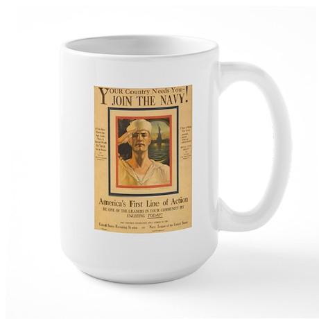 Your Country Needs You Large Mug