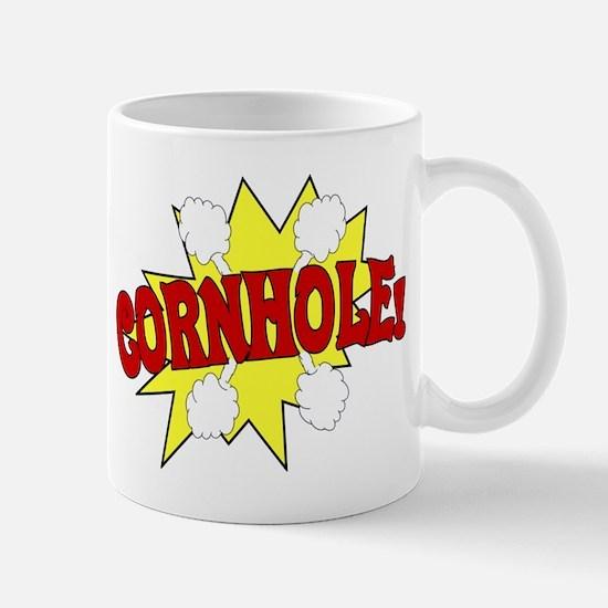 Cornhole Boom Mug