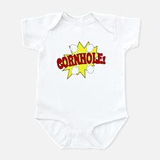 Cornhole Boom Infant Bodysuit