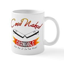 Coed Naked Cornhole Red Mug