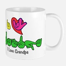 I-L-Y Grandpa Mug