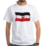 Wavy Cameroon Flag 1914 White T-Shirt
