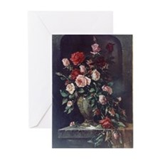 Painted Rose Bouquet Greeting Cards (Pkg. of 6)