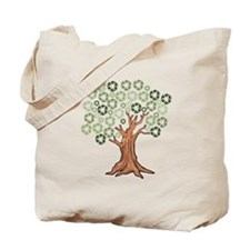 Cute Recycle symbol Tote Bag