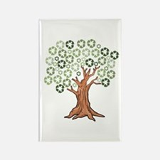 Cute Recycle Rectangle Magnet (100 pack)