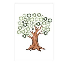 Unique Recycle earth Postcards (Package of 8)