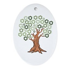Unique Growth Ornament (Oval)