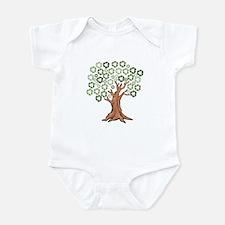 Unique Go green Infant Bodysuit