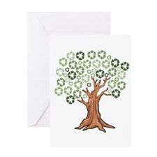 Unique Growth Greeting Card