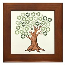 Cute Recycle Framed Tile