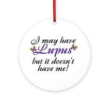 Lupus Keepsake (Round)