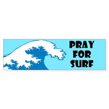 Pray For Surf Sticker (Bumper)