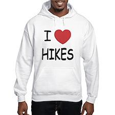 I heart hikes Hoodie