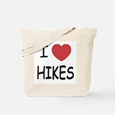 I heart hikes Tote Bag