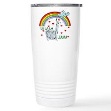 LA LA LA LlAMA Travel Mug