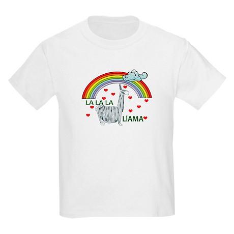 LA LA LA LlAMA Kids Light T-Shirt