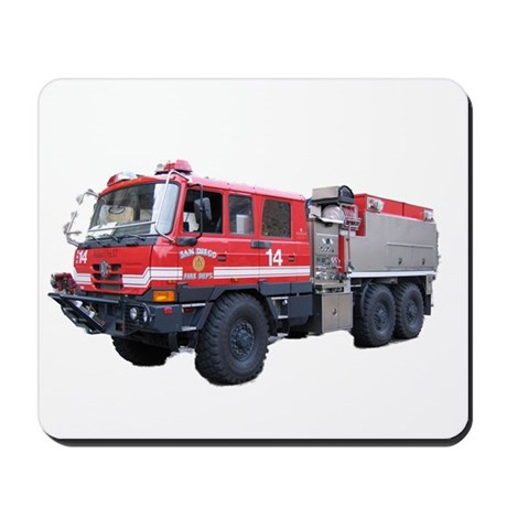 Fire Engine Mousepad