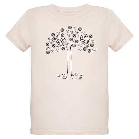 be the tree Organic Kids T-Shirt