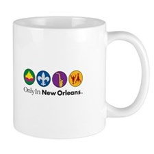 Only In New Orleans - 4 Icon Mug