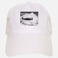 P-47 and Clouds Baseball Baseball Cap