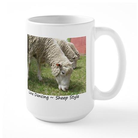 Do Ewe Dance? Large Mug