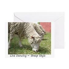 Do Ewe Dance? Greeting Card