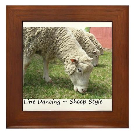 Do Ewe Dance? Framed Tile