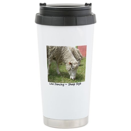 Do Ewe Dance? Stainless Steel Travel Mug
